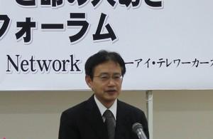 写真:岡田芳宏保健福祉政策課長