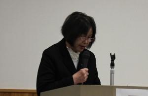 写真:猪子光枝事務局長