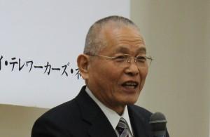 写真:近藤治郎徳島県自殺予防協会名誉理事長